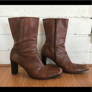 Vintage Coach Leather Boots